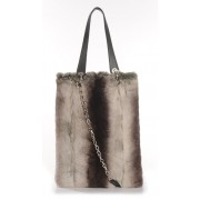 Rex Rabbit  Shopping Bag with Leather