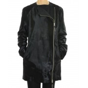 Calf Jacket Combined with Wool & Cashmere