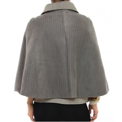 Mutton Vest with Attached Cape